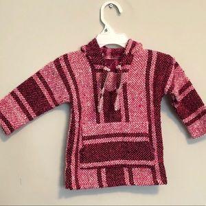 Other - Baby girl baja sweater poncho